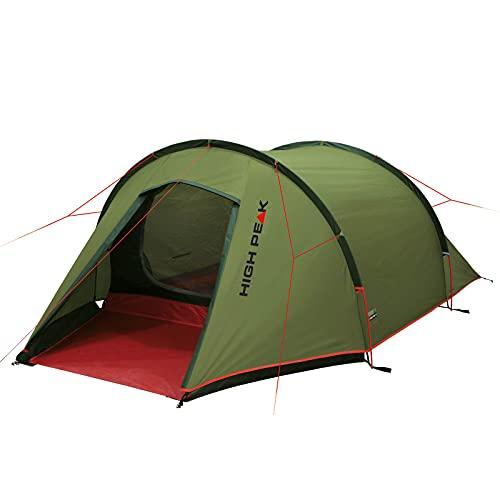 High Peak Tienda de campaña tipo túnel, 3 LW, para bicicleta, camping, senderismo, alojamiento
