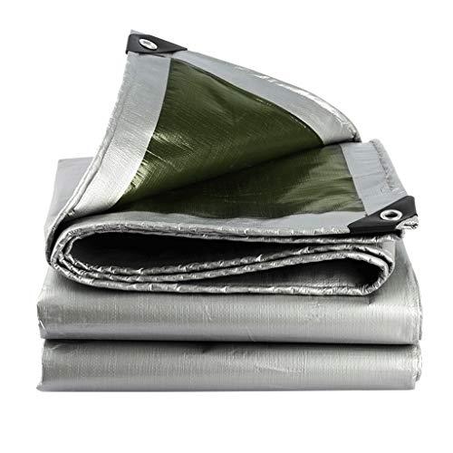 Tent Accessoires PE Dekzeil Polyethyleen Zilver Verdikt Geïsoleerd voor Outdoor Zonnescherm Regenhoes Luifel Tuin Buiten 4 * 5m