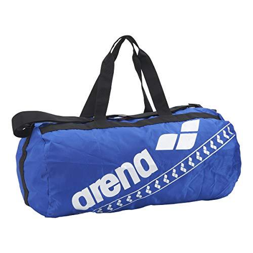 arena(アリーナ) 水泳 スイミングバッグ ポケッタブルデリバリーバッグ AEAPJA06 BLU(ブルー×ブルー×シルバー) F