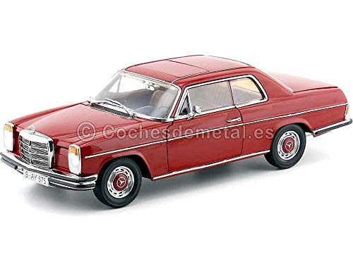1973 Mercedes Benz Strich 8 Coupe 280C W114 Red 1:18 Sun Star...