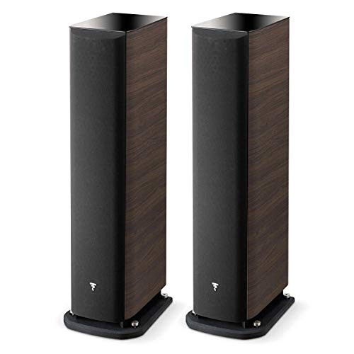 Best Price Focal Aria 926 3-Way Bass Reflex Floorstanding Speakers – Pair (Dark Walnut)