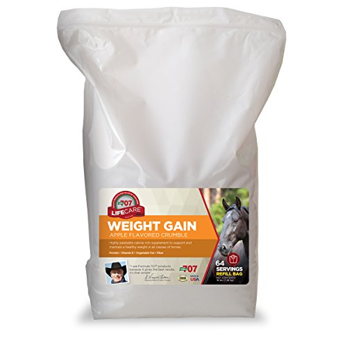 Formula 707 Weight Gain Equine Supplement, 16lb Refill Bag – palatable, Calorie-Rich Nutritional Support for Hard-to-Keep and Senior Horses
