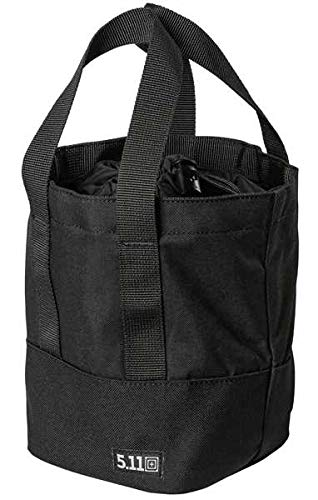 5.11 Tactical Range Master Heavy Duty Stackable Bucket Bag 4L, Black, Style 56534