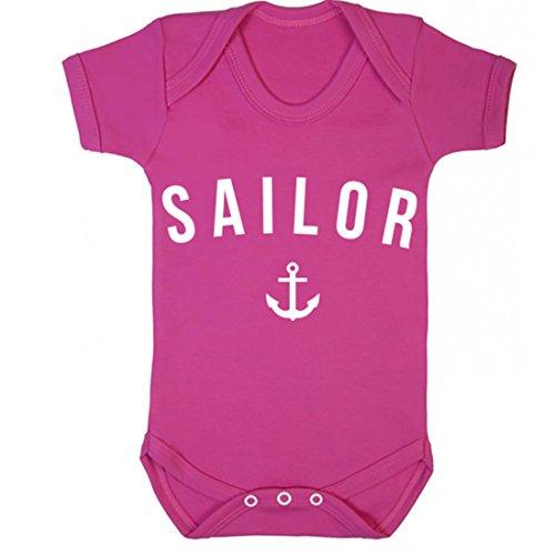 illustratedidentity Sailor Baby Vest Boys Girls