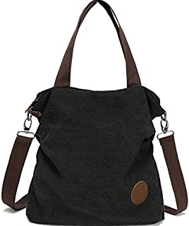 Crossbody Cloth Purses Women Casual Canvas Bag Satchel Travel Handbags