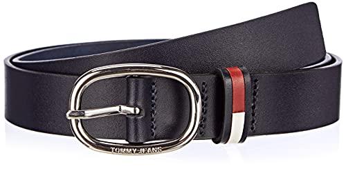 Tommy Jeans Damen TJW OVAL 3.0 Belt Gürtel, Twilight Navy, 100