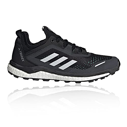 adidas Terrex Agravic Flow W, Zapatillas de Trail Running Mujer, NEGBÁS/Balcri/MENACI, 36 EU