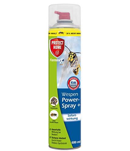 PROTECT HOME FormineX Powerspray mit Sofortwirkung gegen einzelne Wespen und Wespennester, mit...
