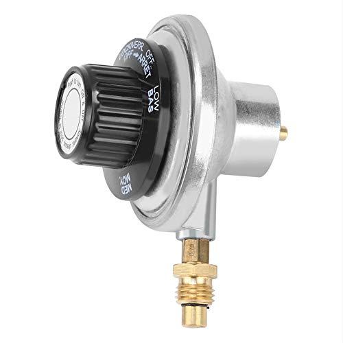 """1""""-20UNF Válvula de control de regulador de gas ajustable de baja presión de aleación de zinc para parrilla de barbacoa"""