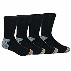 Wool Blend. Stay Up Cuff, Achilles Cushion, Mesh Ventilation. Arch Support, Full Cushion Footbed, Reinforced Heel & Toe. 47% Acrylic, 24% Polyester, 15% Wool, 12% Cotton and 2% Lycra Spandex. Fits Shoe Size: 6-12.