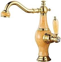 Qfeng2021 Tools & Home Improvement>Kitchen & Bath Fixtures>Bathroom Fixtures> Bathroom Sink Taps (Color : A)