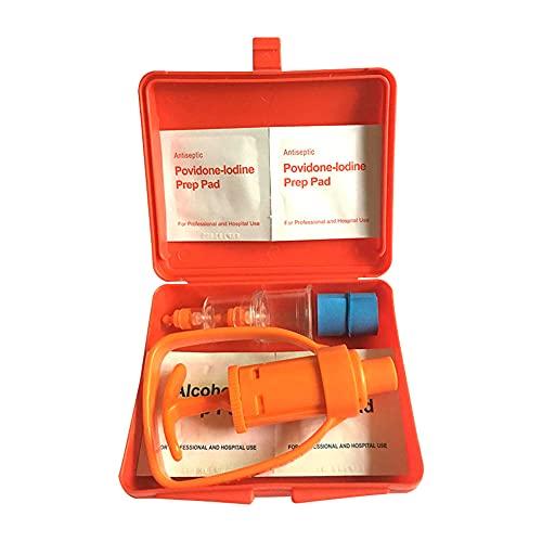 Bomba De Succión del Extractor De Veneno Kit Snake Insect Sting Removedor De Envenenamiento Supervivencia Al Aire Libre Herramienta De Seguridad De Primeros Auxilios