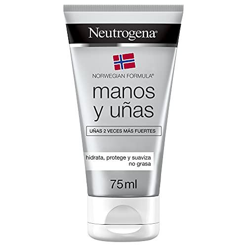 Neutrogena Crema de manos y uñas fórmula Noruega, uñas más resistentes, 75 ml