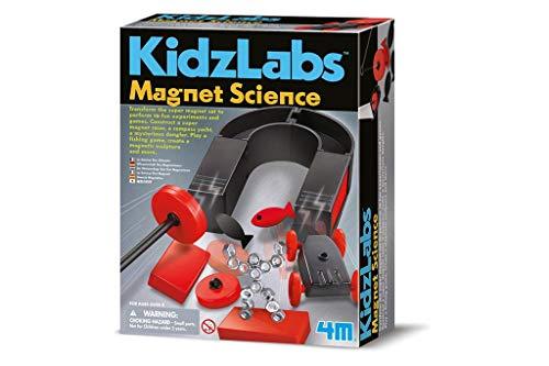 Great Gizmos 4M Kidz Labs Magnet Set zum Experimentieren (englische Version)