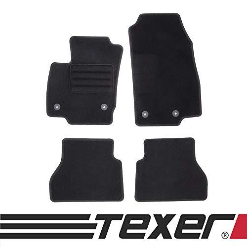 test TEXER Textilfußmatten sind für Ford B-Max Bj geeignet.  2012-2017 Basic Deutschland