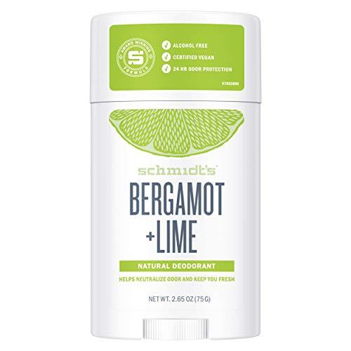 Schmidt's Deodorant Stick Bergamot und Lime, 75 g