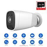 JOOAN 1080P HD Wireless Rechargeable Battery Powered Security Camera WiFi IP Camera Wire-Free