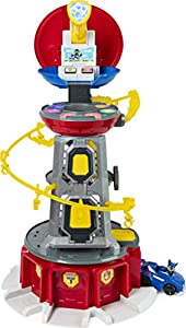Paw Patrol 6053408, Mighty Pups Super Paws Mirador Torre Playset con Luces y Sonidos, para Edades de 3 años en adelante (2019)