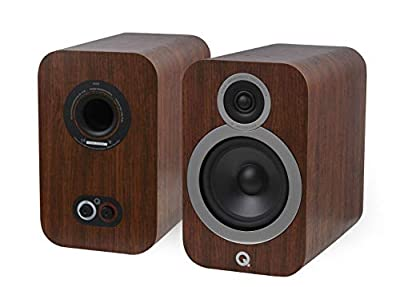 Q Acoustics 3030i Bookshelf Speaker (Pair) (Walnut) from Q Acoustics