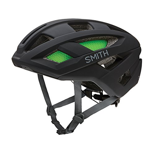 SMITH Ruta Casco de Bicicleta Unisex, Route, Negro Mate