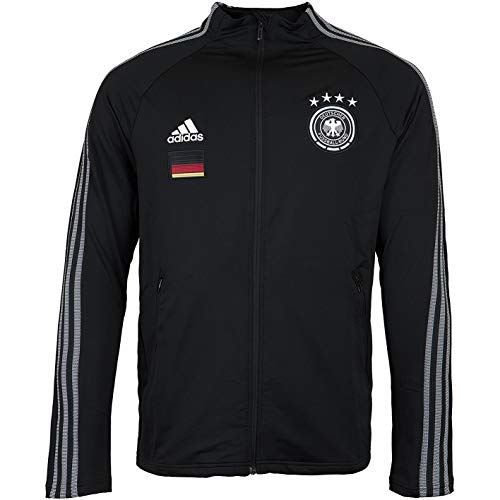 Adidas DFB Anthem Trackjacket Jacke (M, Black)