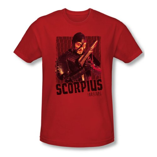 Farscape - - Scorpius Tee-shirt Homme, XX-Large, Red