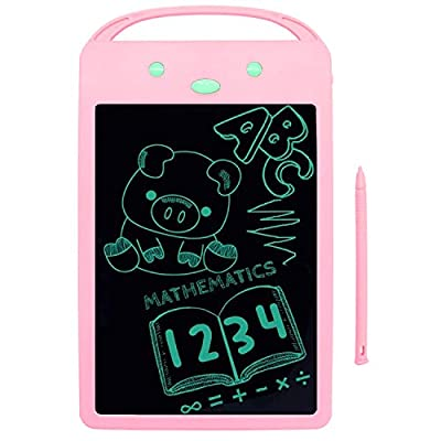 YOHE Gift Girl Toys for 1-6 Year Old Girls Gifts,LCD Drawing Board for Toddles Kids,Educational Birthday Gift as Girls Toys Age 1 2 3 4 5 6 (Pink, 8.5'')