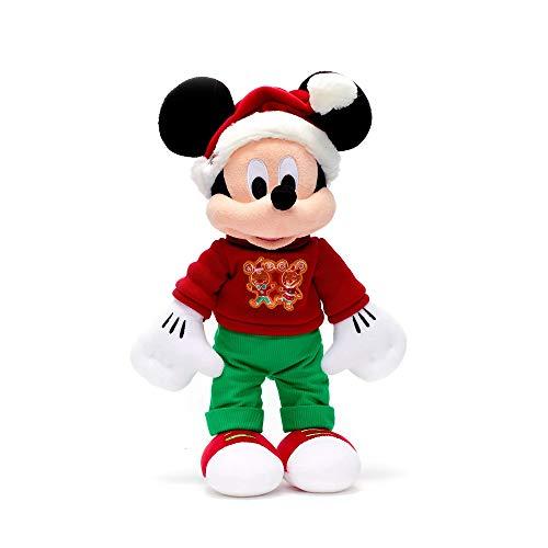 OfficialDisney Disney Mickey Mouse Navidad 2020 - Muñeca de peluche (45 cm)