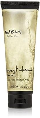 WEN by Chaz Dean Wen Sweet Almond Mint Anti-Frizz Styling Creme, 4 Fl Oz