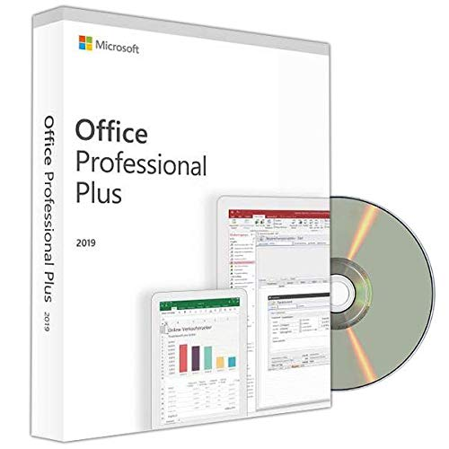 Office 2019 Professional Plus 32/64 Bit ISO DVD - Vollversion