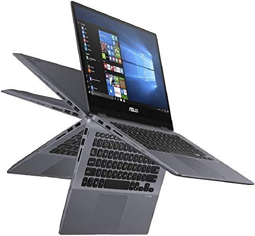 ASUS VivoBook Flip 14 TP412FA (90NB0N31-M04170) 35,5cm (14 Zoll, Full HD, WV, Touch) Convertible Notebook (Intel Core i5-8265U, Intel UHD-Grafik 620, 8GB RAM, 512GB SSD, Windows 10) Star Grey