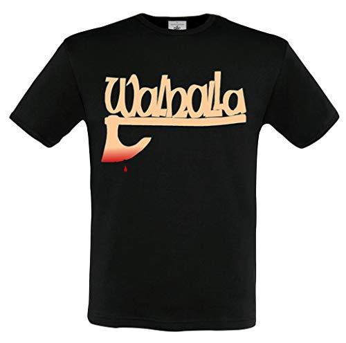 T Shirt Walhalla AXT SCHWARZ Germanen Odin Thor (XXL)