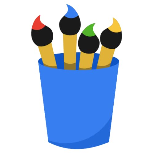 Paint Brush Drawing finger painting