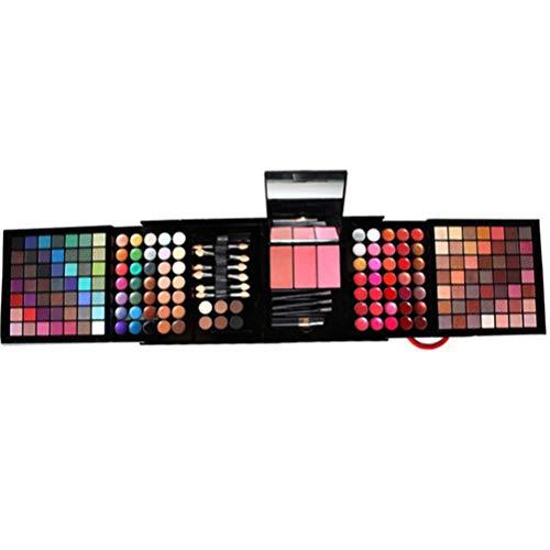 Completo Paleta de Maquillaje 177 Colores Juego de Maquillaje - Sombras de Ojos Set Caja de Maquillaje de Regalo con Corrector Rubor Sombra de Ojos Cosmético Estuche Maquillaje Set para mujeres