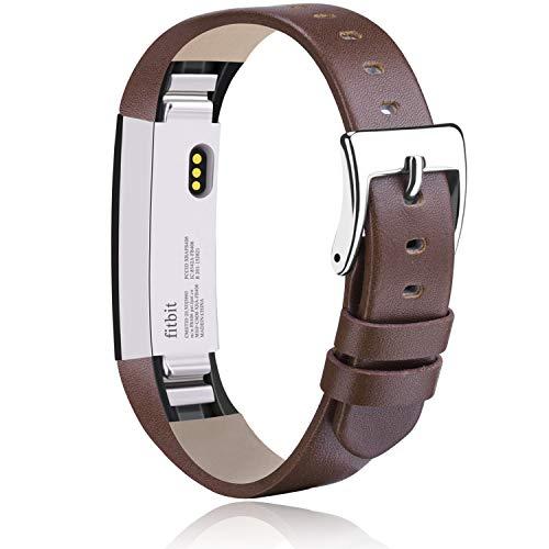 Vancle Cinturino di ricambio per Fitbit Alta HR e Fitbit Alta, cinturino in pelle morbida di ricambio per Fitbit Alta HR