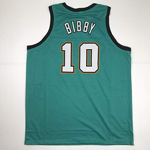 Unsigned Mike Bibby Vancouver Teal Custom Stitched Basketball Jersey Size Men's XL New No Brands/Logos