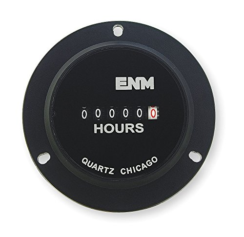 ENM Hour Meter Electrical 3-Hole Flange