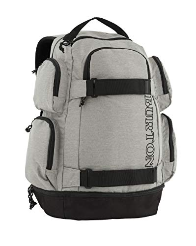 Burton Distortion Mochila, Unisex Adulto, Gris (Gris Heather), Talla única