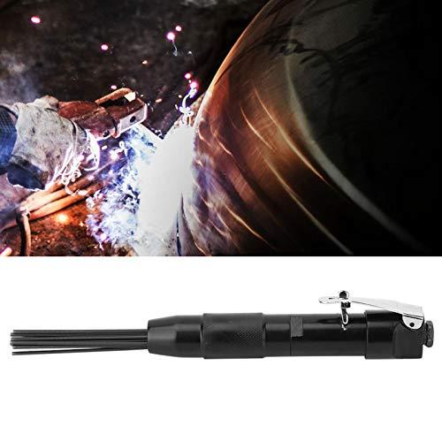 Herramienta de escoria de aguja, herramienta de desbarbado de aire, 4400 rpm Limpiador de escoria de aguja neumático de aire Escoria de óxido Eliminar herramienta de limpieza de desbarbado