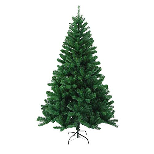 DHSD 5.9ft/1.8M Christmas Tree 750 Tips Bushy Artificial Tree with Metal Stand
