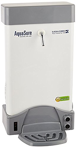 AquaSure from Aquaguard Aquaflo DX UV Water Purifier, Suitable for Municiple Water (Suitable for Municipal Water, TDS Below 200ppm) (White)