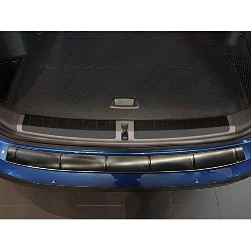 ZLYCZW Protector de Parachoques Trasero de Acero Inoxidable, Cubierta de Placa de umbral protección contra arañazos de Maletero de Coche, Accesorios de Estilo, Apto para BMW X1 II F48 M-Package 2015
