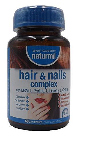 Anti-verlies van natuurlijke mil, biotine, MSM, liisine, niacine, zink wildernis vitamine A en C voor krachtige en gezonde nagels. Helpt de haargroei.