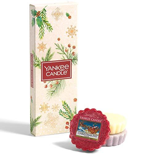 Yankee Candle Set de regalo   3 cera perfumada de Navidad   Colección mágica de la mañana de Navidad