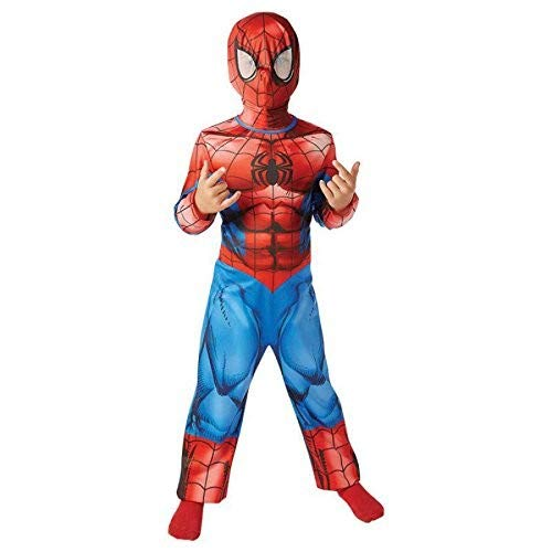 Rubie's- Spider-Man Costume Ultimate Spiderman per Bambini, S, IT620686-S
