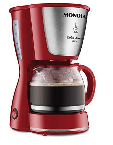 Cafeteira Dolce Arome, Vermelho/Inox 220V, Mondial - C-35 18X