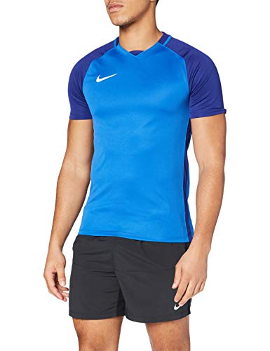 Nike Herren Trophy III Jersey Shortsleeve T-Shirt, Royal Blue/Deep Royal Blue/White, M