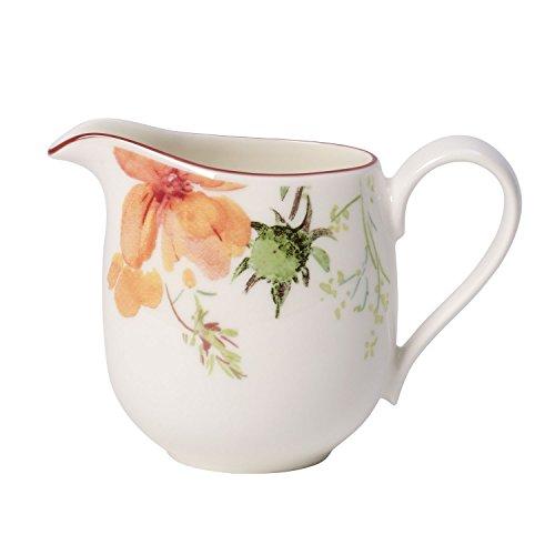 Villeroy & Boch Mariefleur Tea Milchkännchen, 150 ml, Höhe: 10 cm, Premium Porzellan, Bunt