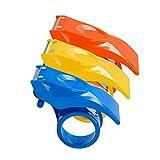 Cabilock 3 Piezas de Plástico Dispensador de Cinta de Mano para Envolver El Envío Sellado de...
