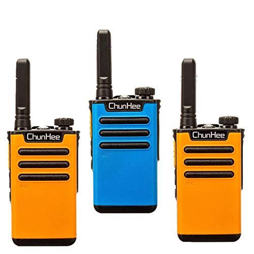 Intercoms Wireless for Home Long Range 1.5 Mile Two Way Radio,Room to Room Intercom,Wireless Intercom System for Caregivers for Kids, Senior & Elderly Business House Office Gate Restaurant 3 Pack